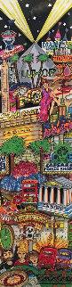 Looting Las Vegas 3-D 1999 Limited Edition Print - Charles Fazzino