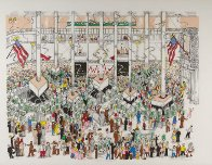 Stock Exchange 3-D 1992 Limited Edition Print by Charles Fazzino - 1