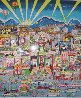 I Love L.A. 3-D AP 1991 Limited Edition Print by Charles Fazzino - 1