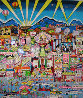 I Love L.A. 3-D AP 1991 Limited Edition Print by Charles Fazzino - 0