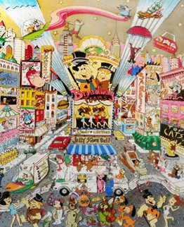 Broadway Toons  3-D 1997 Limited Edition Print by Charles Fazzino