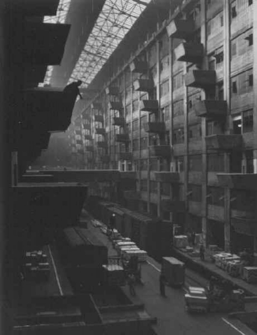 Warehouse Dock - Brooklyn 1948 Limited Edition Print by Andreas Feininger