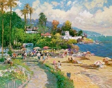 Promenade 1999 Limited Edition Print by Ming Feng
