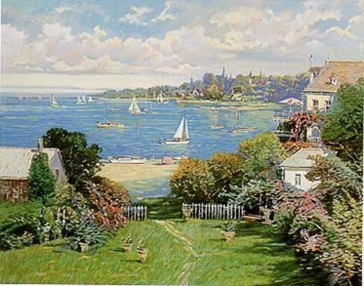 Sandy Bay PP Limited Edition Print by Ming Feng