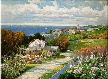 Seaside Vista PP Limited Edition Print - Ming Feng