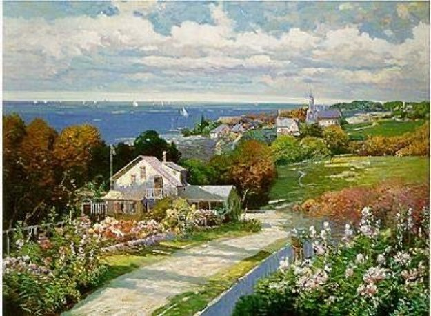 Seaside Vista PP Limited Edition Print by Ming Feng