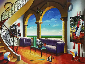 Serenity 2003 Limited Edition Print by (Fernando de Jesus Oliviera) Ferjo
