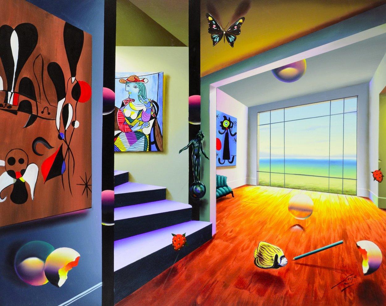 Gallery 2009 40x50 Super Huge Original Painting by (Fernando de Jesus Oliviera) Ferjo