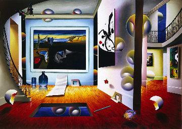 Dali With Miro AP 2001 Limited Edition Print by (Fernando de Jesus Oliviera) Ferjo
