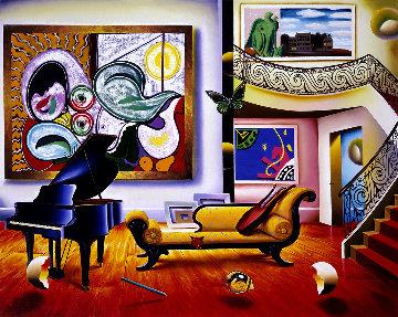 Piano Room AP 1999 Limited Edition Print - (Fernando de Jesus Oliviera) Ferjo