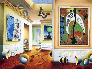 Homage to Magritte AP 2001 Limited Edition Print - (Fernando de Jesus Oliviera) Ferjo