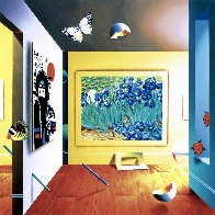 Homage to Van Gogh AP 2001 Limited Edition Print by (Fernando de Jesus Oliviera) Ferjo - 0