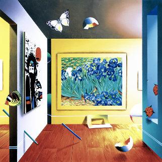Homage to Van Gogh AP 2001 Limited Edition Print - (Fernando de Jesus Oliviera) Ferjo