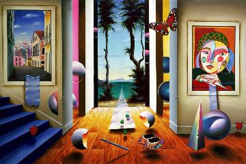 Journey to Paradise AP 2002 Limited Edition Print by (Fernando de Jesus Oliviera) Ferjo
