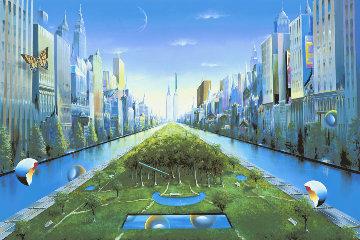 Journey to the Future AP 2003 Huge Limited Edition Print - (Fernando de Jesus Oliviera) Ferjo