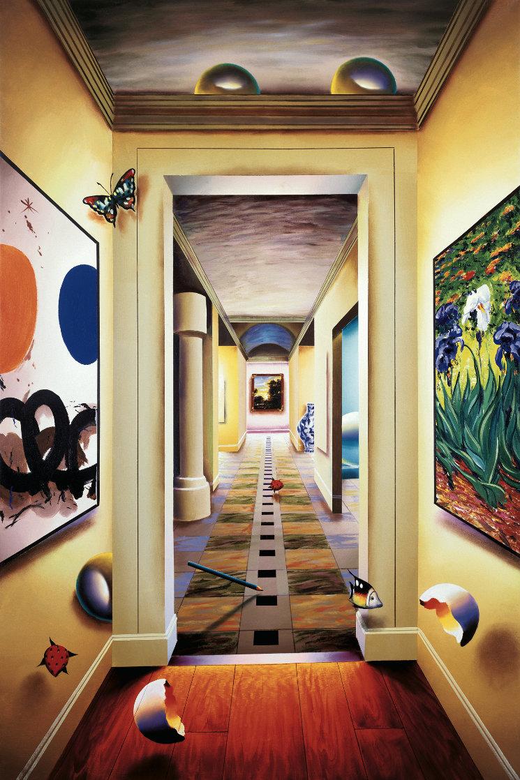 Peaceful Hallway AP 2002 Limited Edition Print by (Fernando de Jesus Oliviera) Ferjo