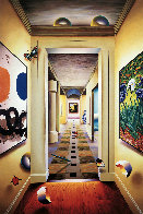 Peaceful Hallway AP 2002 Limited Edition Print by (Fernando de Jesus Oliviera) Ferjo - 0