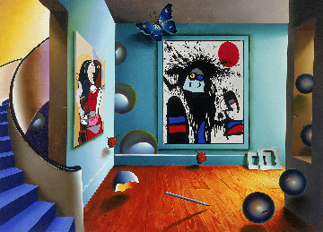 Picasso And Miro AP 1999 Limited Edition Print by (Fernando de Jesus Oliviera) Ferjo
