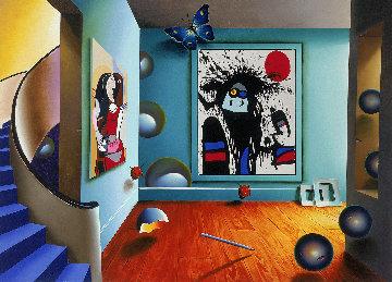 Picasso And Miro AP 1999 Limited Edition Print by (Fernando de Jesus Oliviera) Ferjo
