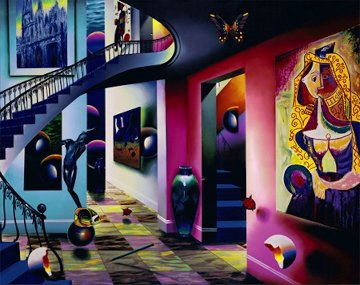 Picasso Lovers AP 2002 Limited Edition Print - (Fernando de Jesus Oliviera) Ferjo