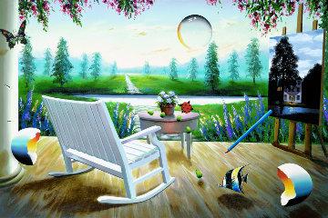 Spring Fantasy AP 2003 Limited Edition Print - (Fernando de Jesus Oliviera) Ferjo