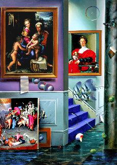 Beginning  Left Panel AP 2001 Limited Edition Print by (Fernando de Jesus Oliviera) Ferjo