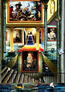 Beginning  Middle Panel AP 2001 Limited Edition Print by (Fernando de Jesus Oliviera) Ferjo