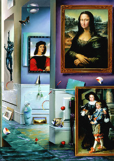 Beginning  Right Panel AP 2001 Limited Edition Print by (Fernando de Jesus Oliviera) Ferjo