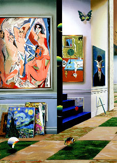 New Generation Left Panel AP 2002 Limited Edition Print by (Fernando de Jesus Oliviera) Ferjo