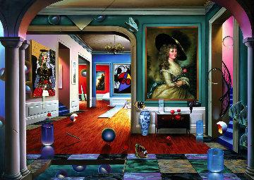 Third Dimension AP 2001 Limited Edition Print - (Fernando de Jesus Oliviera) Ferjo