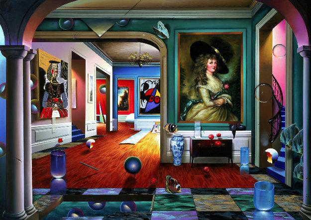 Third Dimension AP 2001 Limited Edition Print by (Fernando de Jesus Oliviera) Ferjo