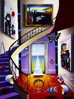 Walk Up to the Masters AP 1999 Limited Edition Print by (Fernando de Jesus Oliviera) Ferjo