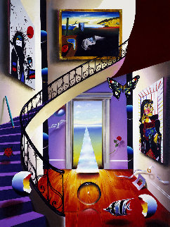 Walk Up to the Masters AP 1999 Limited Edition Print by (Fernando de Jesus Oliviera) Ferjo