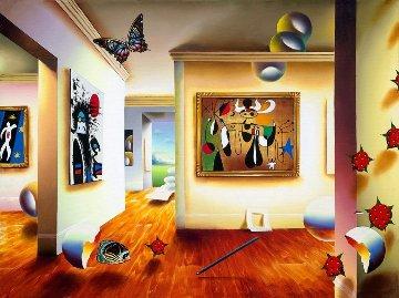Homage to Miro 2001 Limited Edition Print by (Fernando de Jesus Oliviera) Ferjo