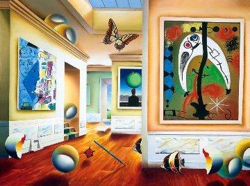 Homage to Magritte 2001 Limited Edition Print - (Fernando de Jesus Oliviera) Ferjo