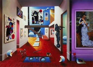 Homage to the Masters 2000 Limited Edition Print - (Fernando de Jesus Oliviera) Ferjo