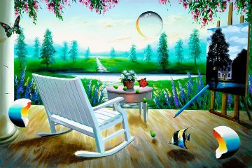 Spring Fantasy 2003 Limited Edition Print - (Fernando de Jesus Oliviera) Ferjo