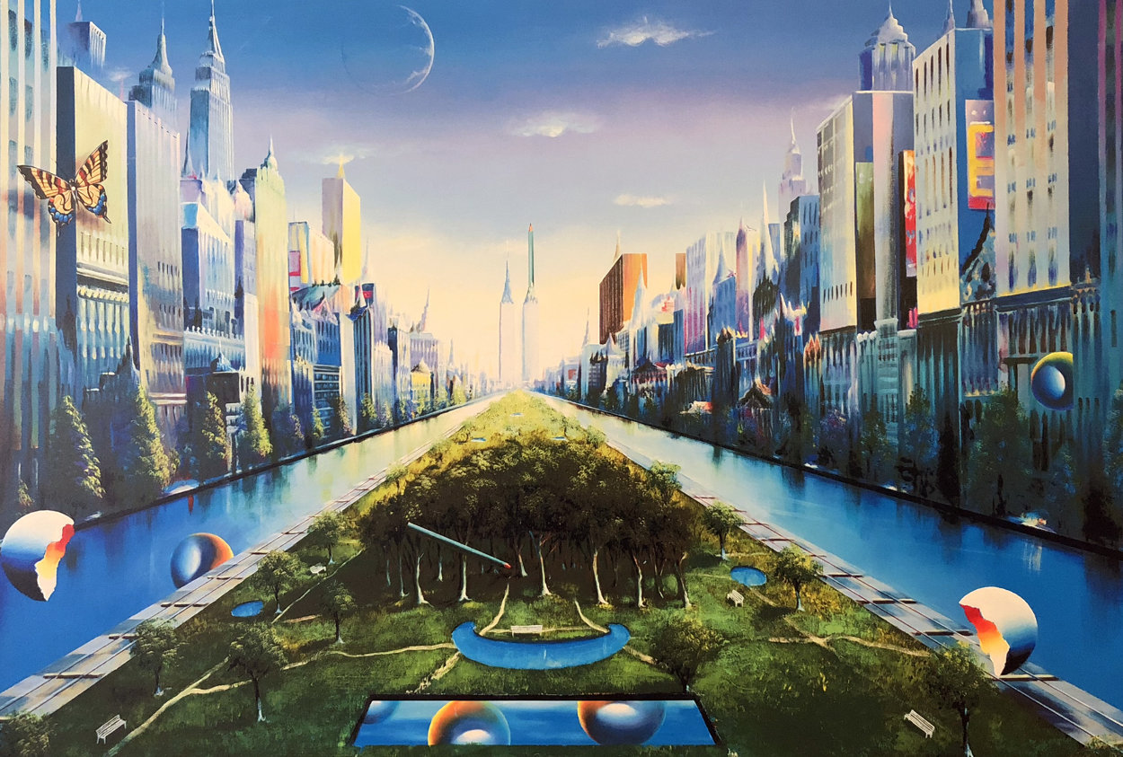 Journey to the Future AP 2003 Super Huge Limited Edition Print by (Fernando de Jesus Oliviera) Ferjo