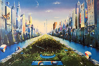 Journey to the Future AP 2003 40x60 Super Huge Limited Edition Print by (Fernando de Jesus Oliviera) Ferjo - 0