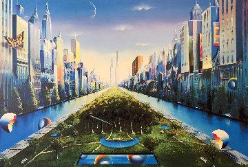 Journey to the Future AP 2003 40x60 Super Huge Limited Edition Print - (Fernando de Jesus Oliviera) Ferjo