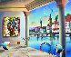Zurich 2018 16x20 Original Painting by (Fernando de Jesus Oliviera) Ferjo - 0