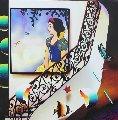 Snow White With Song Birds 2018 24x24 Original Painting - (Fernando de Jesus Oliviera) Ferjo