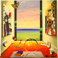 Magic Ball 2000 40x40 Super Huge Original Painting by (Fernando de Jesus Oliviera) Ferjo - 0