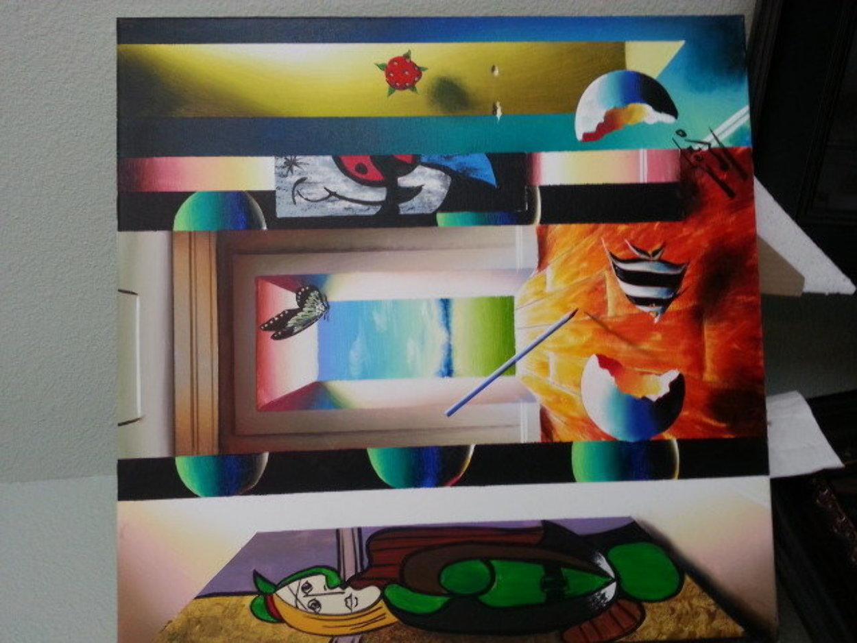 It's a Good Day 24x20 Original Painting by (Fernando de Jesus Oliviera) Ferjo