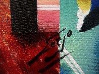 It's a Good Day 24x20 Original Painting by (Fernando de Jesus Oliviera) Ferjo - 2
