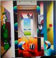 It's a Good Day 24x20 Original Painting by (Fernando de Jesus Oliviera) Ferjo - 1