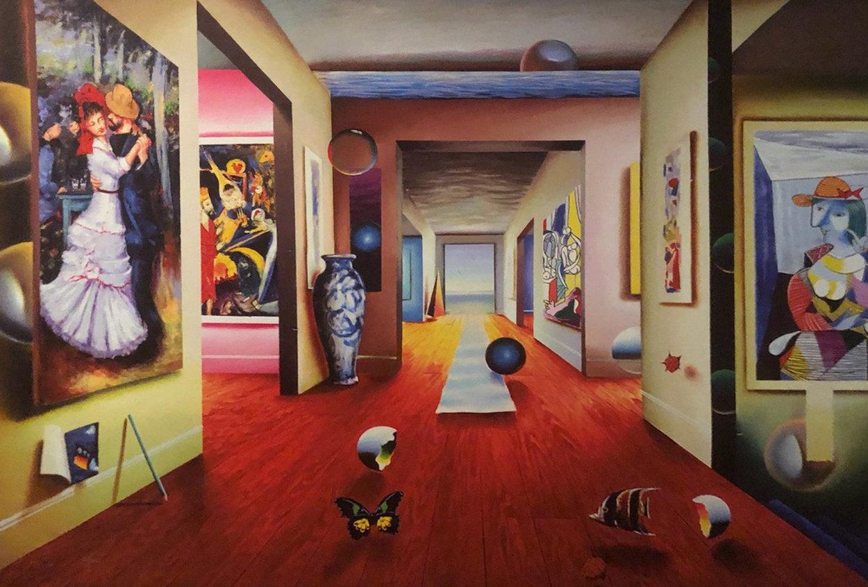 Dance 2001 Super Huge Limited Edition Print by (Fernando de Jesus Oliviera) Ferjo