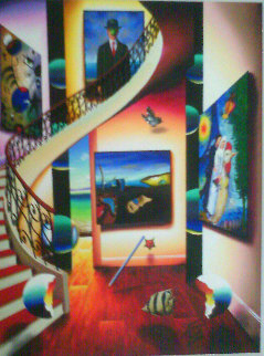 A Master's Point of View 2014 50x40 Original Painting - (Fernando de Jesus Oliviera) Ferjo