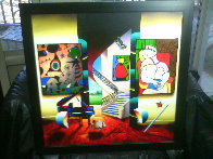Whispers of a Dream 27x27 Original Painting by (Fernando de Jesus Oliviera) Ferjo - 1