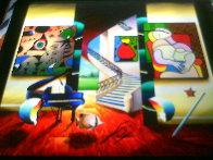 Whispers of a Dream 27x27 Original Painting by (Fernando de Jesus Oliviera) Ferjo - 2